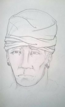 Young El Morya sketch  by hugofb87